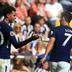 Dele Alli and Ben Davies score as Tottenham get a 2-0 victory over Newcastle