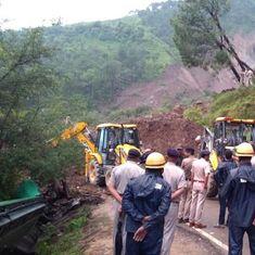 Himachal Pradesh: 46 killed, several injured in landslide on Mandi–Pathankot national highway