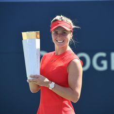 Elina Svitolina beats Caroline Wozniacki to win her third WTA Premier 5 title in Toronto