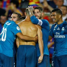 Despite Ronaldo seeing red, Real Madrid drub Barcelona 3-1 in 1st leg of Spanish Super Cup