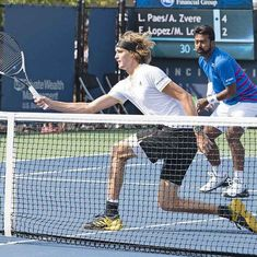 Leander Paes-Alexander Zverev crash out of Cincinnati Open to Feliciano Lopez-Marc Lopez