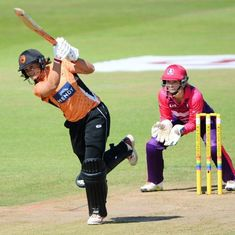 'Unbelievable': Suzie Bates destroys records with a stunning 63-ball century in the Kia Super League