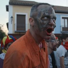 Watch: Spaniards love playing in towns overrun by zombies. But it's not a video game