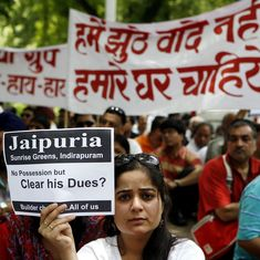 Will government intervention help home buyers recover money from realty firms facing closure?