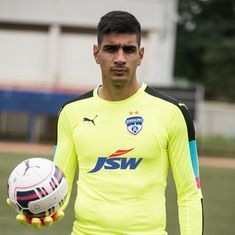 Back in India: Goalkeeper Gurpreet Singh signs for Bengaluru FC
