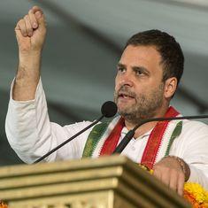 आरएसएस को जब तक सत्ता नहीं मिली, तिरंगे को सलाम नहीं किया : राहुल गांधी