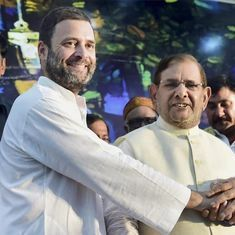 Sharad Yadav's meeting to protect India's composite culture becomes another show of Opposition unity