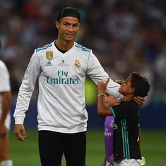 Cristiano Ronaldo favourite as nominees are unveiled for 2017 Best Fifa Men's Player award
