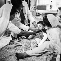 In photos: The children left shrunken and brain-damaged in Gorakhpur's encephalitis ward