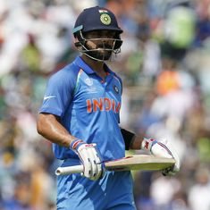 Virat Kohli continues to reign as the top-ranked ODI batsman, India remain 3rd