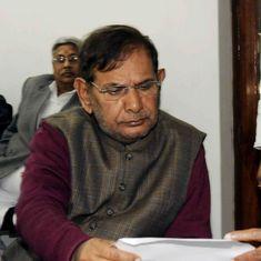 Sharad Yadav faction stakes fresh claim for Janata Dal (United)'s arrow symbol before EC