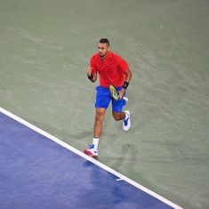 Kyrgios knocks out Nadal to reach semis, Pliskova extends dominance at Cincinnati