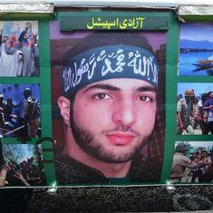 बुरहान वानी को पाकिस्तान में 'नायक' बताया जा रहा है और पीओके में पाकिस्तानियों को 'खलनायक'