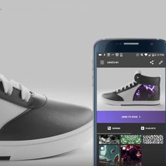 Watch: You can change the colour and pattern on these sneakers in an instant (yes, there's an app)