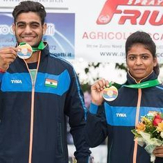 Manisha Keer, Lakshay Sheoran win mixed team trap bronze in junior World Cup