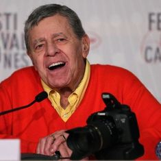Comedian and filmmaker Jerry Lewis dies in Las Vegas at 91