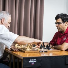 Garry Kasparov backs old rival Viswanathan Anand to continue 'as long as he likes'
