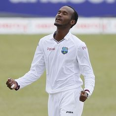 More trouble for West Indies: Part-time off-spinner Kraigg Brathwaite reported for suspect action