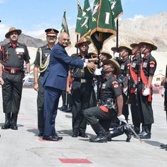 'Dedicate my visit to soldiers': President Ram Nath Kovind in Leh on his first official trip