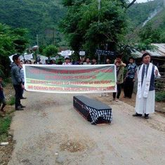 In Manipur, a woman lies unburied for over 2 weeks as village council refuses space for final rites