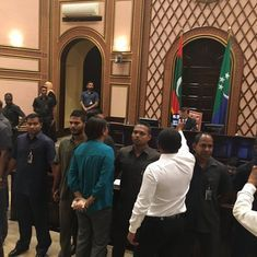 Maldives: Opposition claims military took over Parliament to stop no-confidence vote against Speaker
