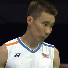 World Championships: Second seed Lee Chong Wei stunned in the first round