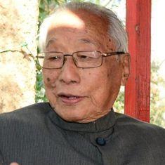 Former Manipur CM Rishang Keishing dies in Imphal