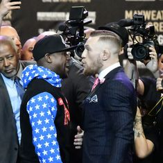 Floyd Mayweather, Conor McGregor pull verbal punches as superfight countdown begins