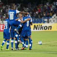 Bengaluru FC register a comfortable 3-0 win against April 25 SC in AFC Cup