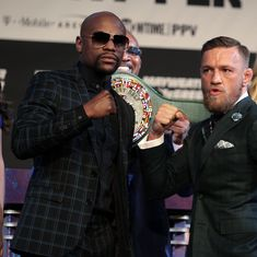 'It's not going to be an easy fight': Floyd Mayweather on clash against Conor McGregor