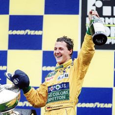 To mark 25th anniversary of Michael Schumacher's first F1 win, son Mick to drive Benetton at Spa