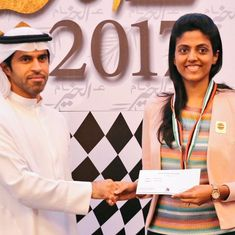 Harika Dronavalli finishes as best women's chess player at Abu Dhabi international festival