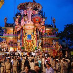 Video: For the last 60 years, the tallest Ganesh Chaturthi idols have been coming from Hyderabad