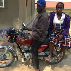 Uganda's boda boda babies: Indian-made motorcycle taxis come to the rescue of pregnant women