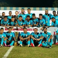 Wake up call: St Kitts & Nevis deny India victory in second game of tri-nation series