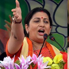 BJP chief Amit Shah, Union minister Smriti Irani sworn in as Rajya Sabha MPs