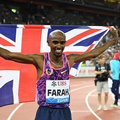 Mo Farah bids adieu to the track with 5000 metres win at Zurich Diamond League
