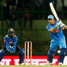 MS Dhoni's ice-cool knock in Pallekele proved that the old warrior isn't finished yet
