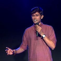 Watch: A stand-up comedian (cautiously) breaks down the story of Ganesha