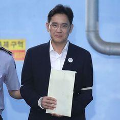 दक्षिण कोरिया : भ्रष्टाचार के मामले में सैमसंग के उत्तराधिकारी को पांच साल की सजा