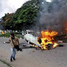 In photos: Deaths, flames and violence that followed Ram Rahim's conviction in a rape case