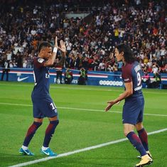 On a night PSG fans thronged to see their new king, Neymar looked all too human