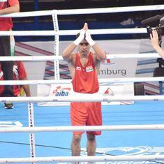 World Boxing Championships: Amit Phangal and Gaurav Bidhuri start strong for India