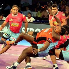 PKL: Pink Panthers edge out U Mumba to register 4th straight win, Pirates and Warriors play out tie