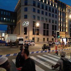 Belgium soldiers shoot dead knife-wielding man who shouted 'Allahu Akbar' in Brussels