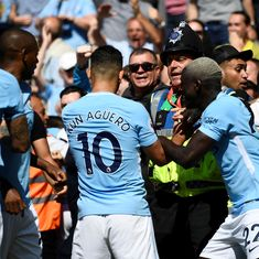 Bournemouth steward accuses Man City's Aguero of assault while celebrating goal