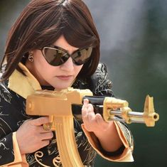 Who is Honeypreet Insan, the woman with Ram Rahim in the helicopter image that went viral?