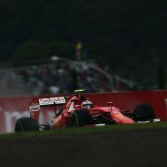 Japanese GP: Vettel, Hamilton set pace in Friday's practice sessions at very wet Suzuka