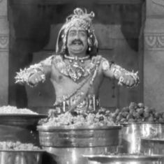 Picture the song: 'Vivaha Bhojanambu' from 'Mayabazar' is a delicious tribute to gluttony