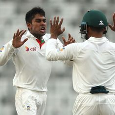 Bangladesh peg Australia back after a wicket-filled opening day of first Test